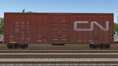 R8 Boxcar 50ft PlateF CN01