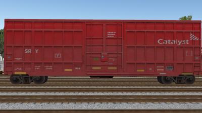 R8 Boxcar 50ft PlateF CAT01