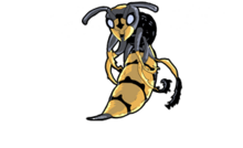 GIANT DAMNED WASP
