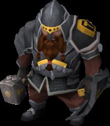 Black guard male