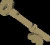 Bronze key (H.A.M.) detail