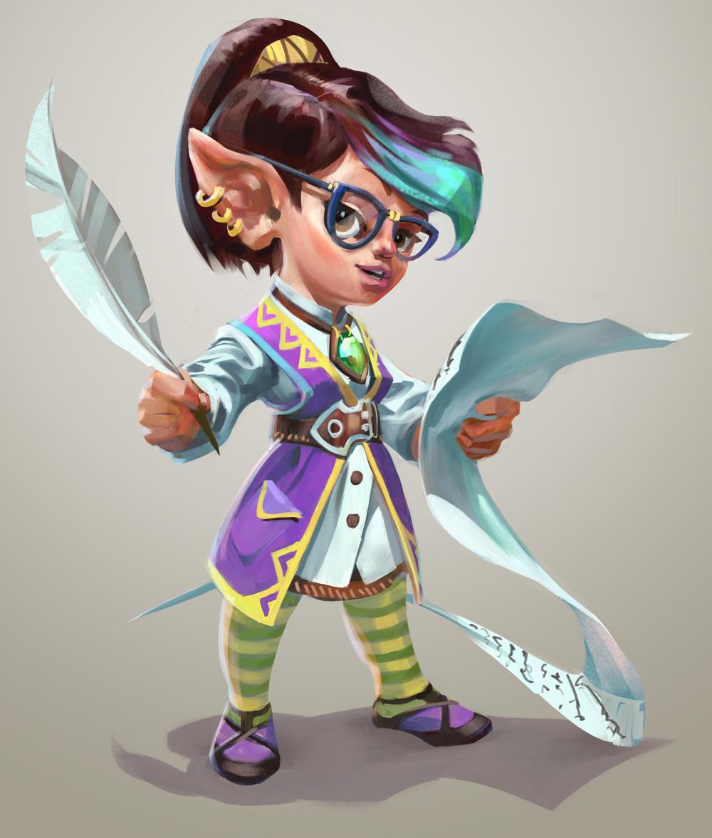 Image - Challenge Mistress Fara concept art.jpg | RuneScape Wiki ...