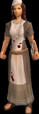Nurse (Invasion of Falador, Black Knights)