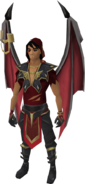 Vyrewatch Skyshadow outfit equipped (male)
