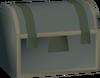 Rusty casket detail