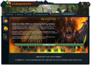 Community (Birth by Fire) interface 1