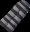 Prison uniform trousers detail