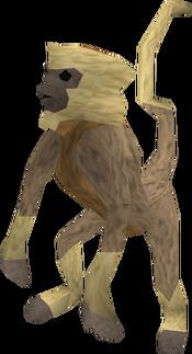 Monkey (tan and beige) pet