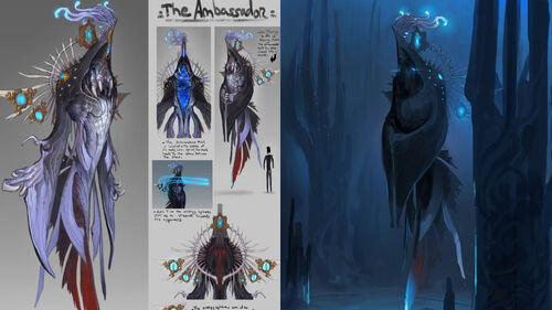 The Ambassador concept art