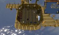 Cryptic clue Fishing Platform