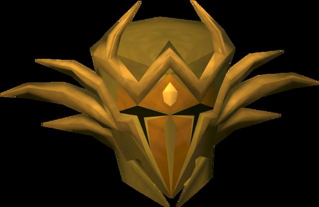 File:Golden warpriest of Zamorak helm detail.png