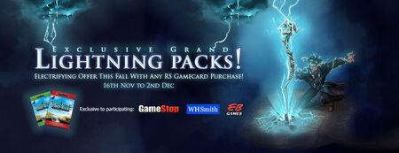 Lightning Packs banner