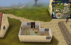 Simple clue Falador ground floor crate