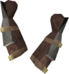 Smith's gauntlets (iron) detail