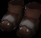 Bandos boots detail