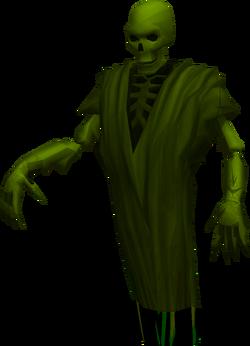 Ghostly wraith
