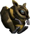 Golden chinchompa ball detail