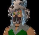Modified shaman's headdress
