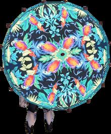 O'ahu parasol equipped