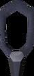 Onyx amulet detail