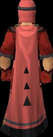 Unhallowed cloak equipped
