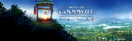 Well of Goodwill banner