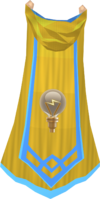 Invention master cape detail