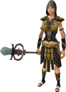 Zuriel's equipment (female) equipped