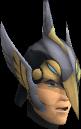 Lucky Armadyl helmet chathead