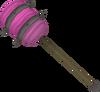 Candy floss maul detail