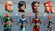 Wraith Wizards Apprentices concept art