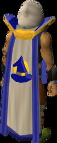 Retro magic cape (t) equipped