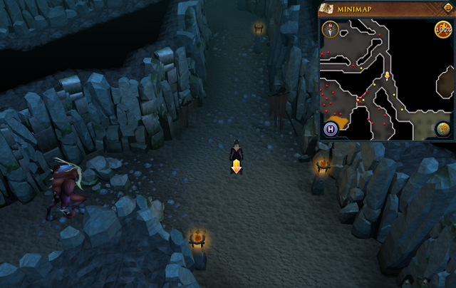 File:Scan clue Taverley Dungeon in passage north-west of magic axe chamber.png