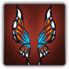 Butterfly wings icon