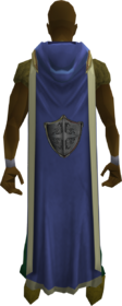 Hooded defence cape (t) equipped