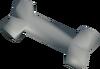 Polished jackal bone detail