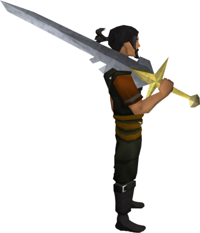 File:Saradomin sword equipped.png