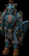 Bandos armour set (lg) equipped