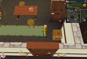 Simple clue Varrock Palace kitchen crate