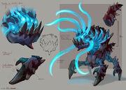 Abyssal demon concept art