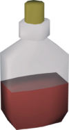 Redberry juice detail