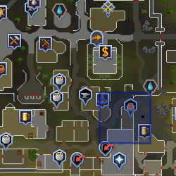 Potter's wheel (Varrock) location