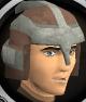 Sacred clay helm chathead
