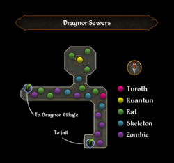 Draynor Sewers map