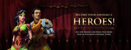 Hero Packs banner