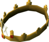 Crown of Loyalty (9 year) detail
