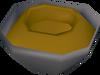 Half made worm bowl detail