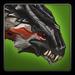 Dragon Wolf adolescent Solomon icon