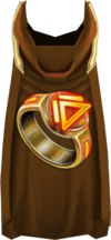 Hooded dungeoneering cape detail