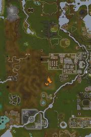 River Dougne map